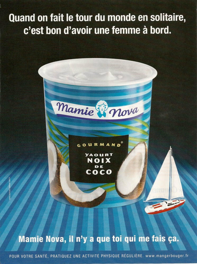 Ambush Marketing de Mamie Nova au Vendée Globe