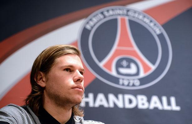 Mikkel Hansen, joueur du PSG Handball et considéré comme le meilleur joueur du monde