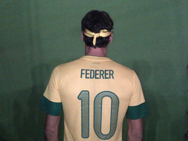 Roger Federer devient brésilien