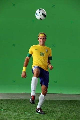 Roger-Federer en mode football