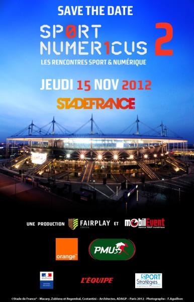 Sport Numericus 2012 au Stade de France