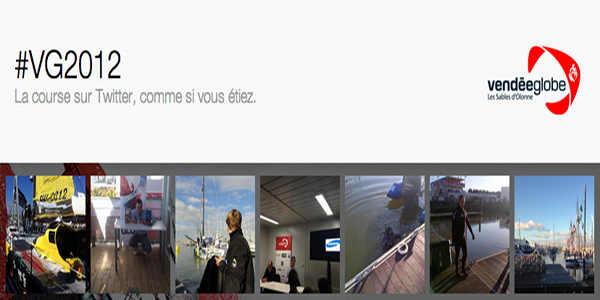 #VG 2012 : Le Vendée Globe 2012-2013 en vedette sur Twitter