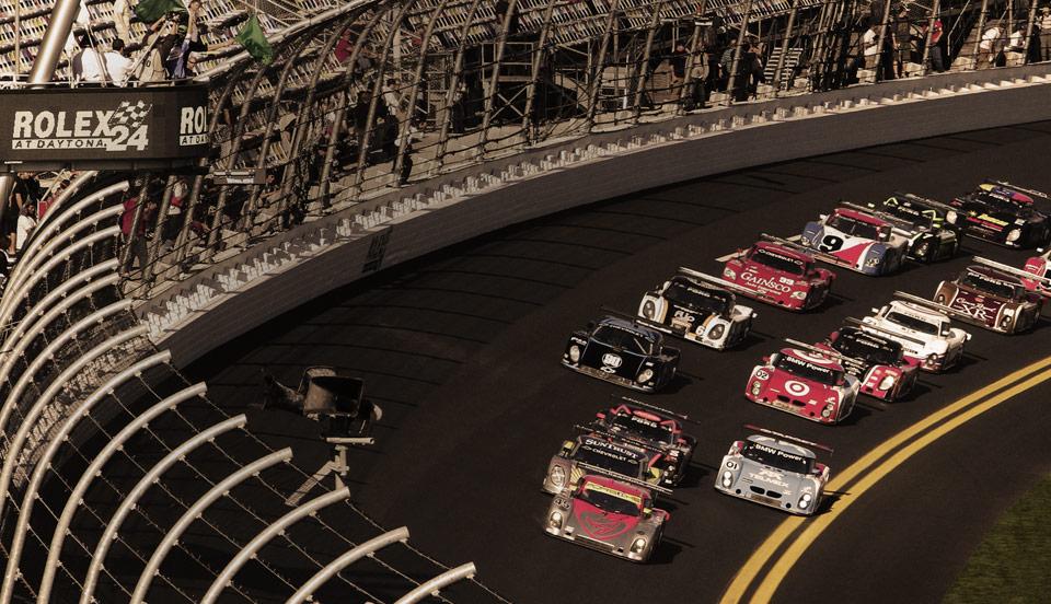 Rolex, sponsor des 24 heures du Daytona