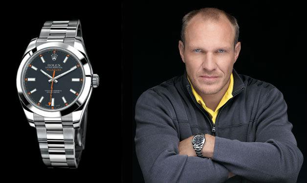 Rolex a été le sponsor de l'ex-skieur Hermman Maier
