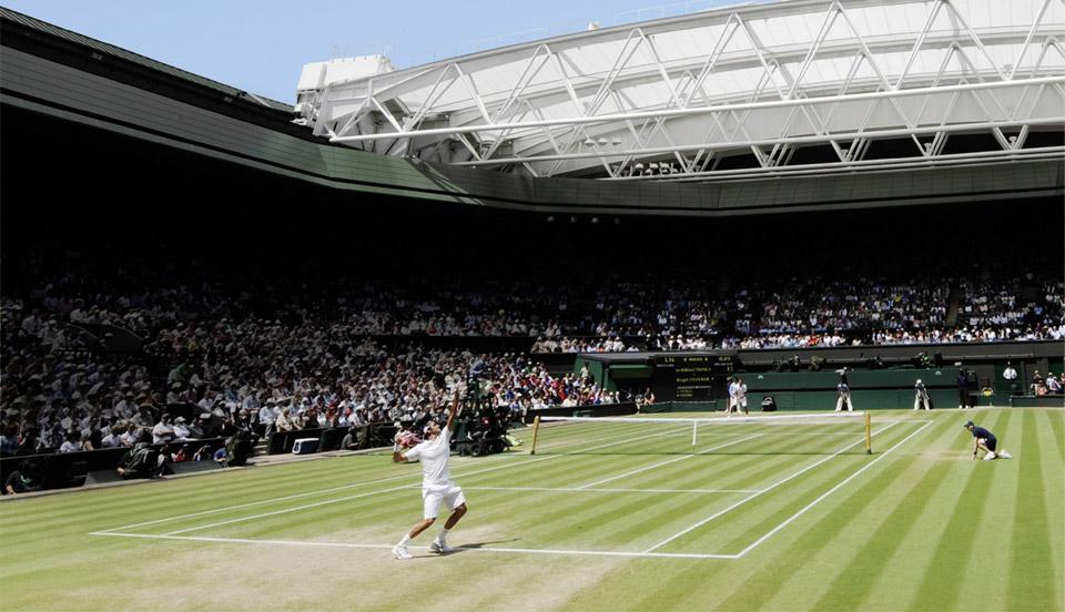 Rolex sponsor de Wimbledon, un des plus gros tournois de tennis du circuit