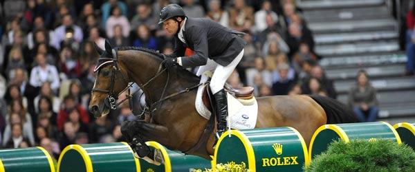 Rolex associe son image à l'équitation
