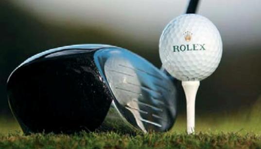 Rolex et le golf, ça swingue!