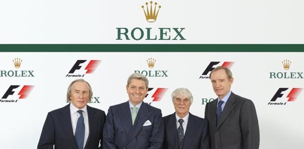 Rolex met les pendules à l'heure et devient sponsor de la F1