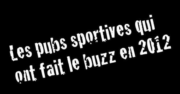 photo publicités sportives les plus partagées réseaux sociaux en 2012