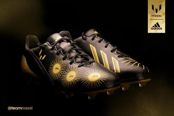 Lionel Messi - Adidas F50 special ballon d'or