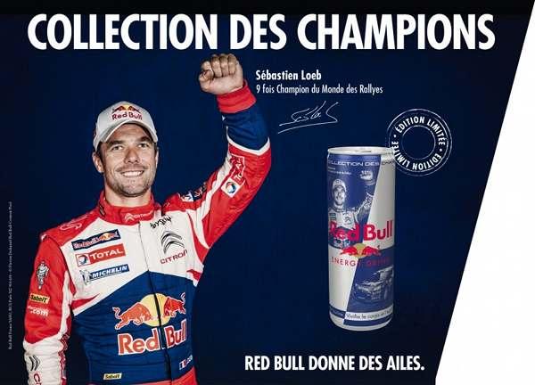Red Bull : La collection des champions avec Sebastien Loeb