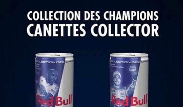 Red Bull : des canettes à l'effigie de Thierry Henry et Sebastien Loeb