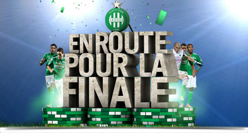 L'AS Saint-Etienne en finale de la Coupe de la Ligue 2013