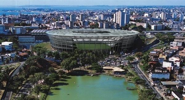 Rio 2014 : Fonte Nova, premier stade à signer un contrat de naming