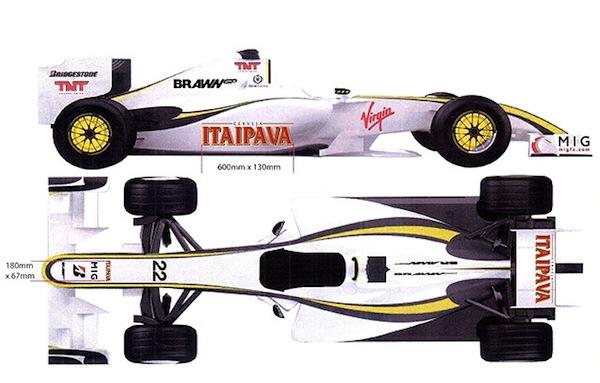 Itraipava, sponsor d'une course en 2009 lors du Grand Prix de Formule 1 du Brésil