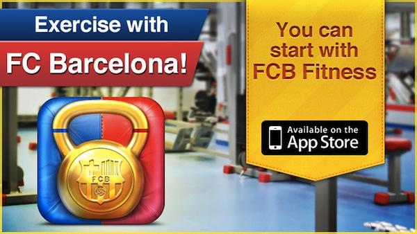Télécharger gratuitement l'application FCB Fitness