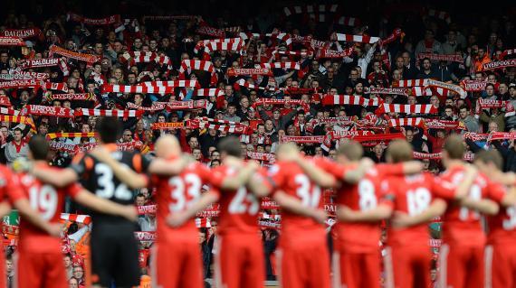 Supporters de Liverpool
