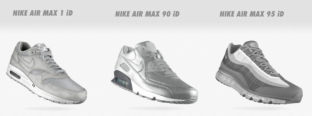 On peut customizer des Nike Air Max avec Nike PhotoID