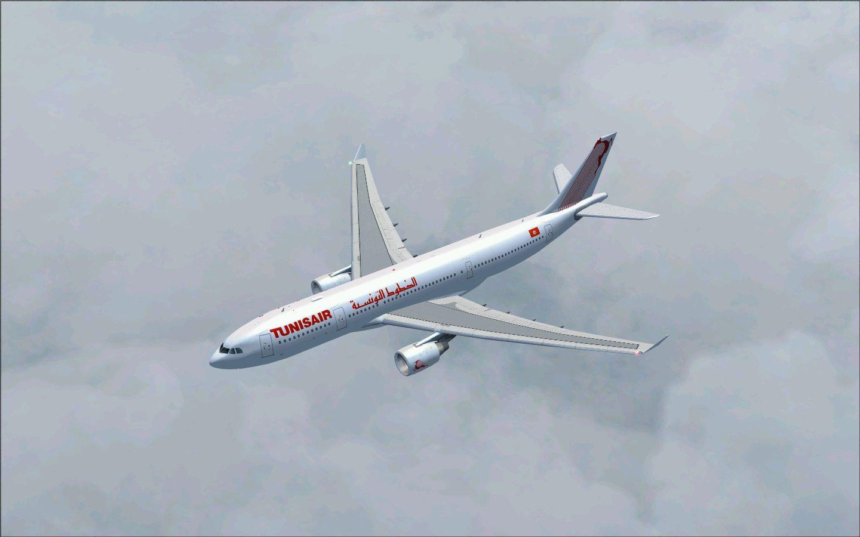 Avion de la compagnie Tunisair