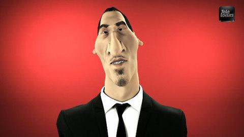 Zlatan Ibrahimovic, nouveau critique cinéma pour Télé Loisirs