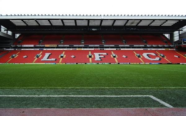 Le Stade d'Anfield Road de Liverpool