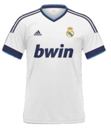 Bwin, sponsor maillot du Real Madrid