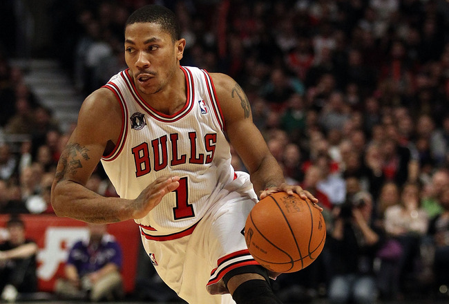 Derrick Rose, joueur des Chicago Bulls