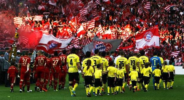 Le Bayern et le Borussia s'affrontent pour la finale de la Ligue des Champions 2013