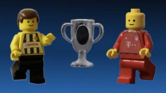 Revivez la finale de la Ligue des Champions 2013...en LEGO!