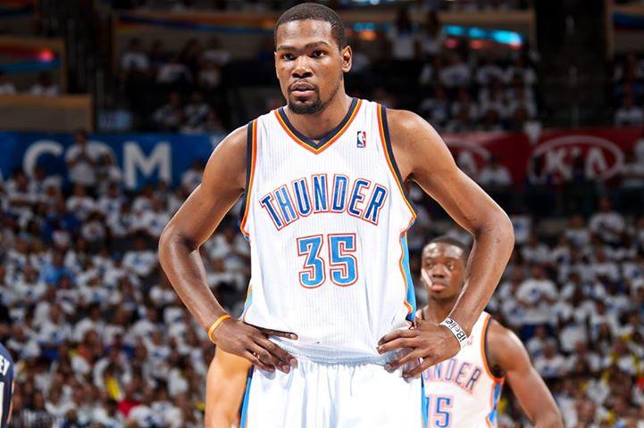Kevin Durant, joueur de Oklahoma