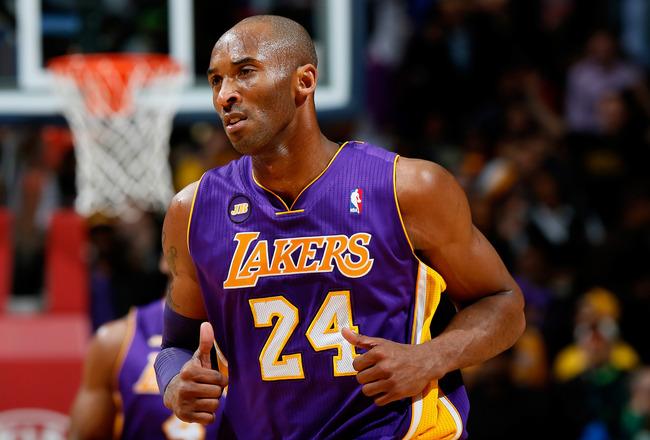 Kobe Bryant, joueur des Los Angeles Lakers