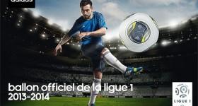 adidas présente le ballon de la Ligue 1 2013-2014