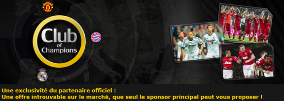 Club of champions by Bwin
