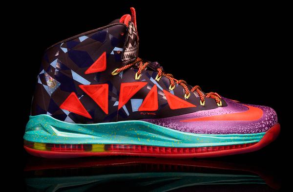 La basket Nike spéciale MVP 2013 de Lebron James