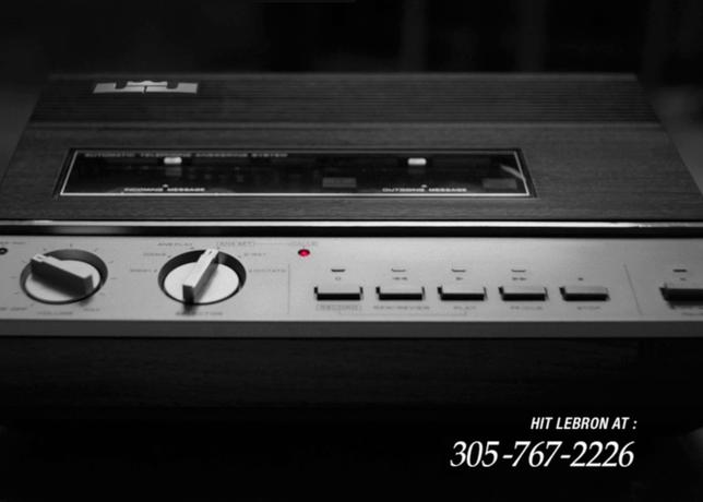 """""""Leave a message"""", la dernière campagne de Nike pour Lebron James"""