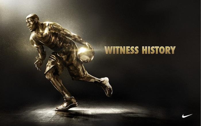 Laissez un message à Lebron James, le MVP des NBA Finals