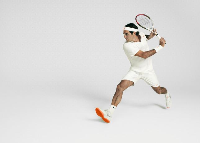 Nike Zoom Vapor 9 Tour Le, la meilleure alliée de Roger Federer