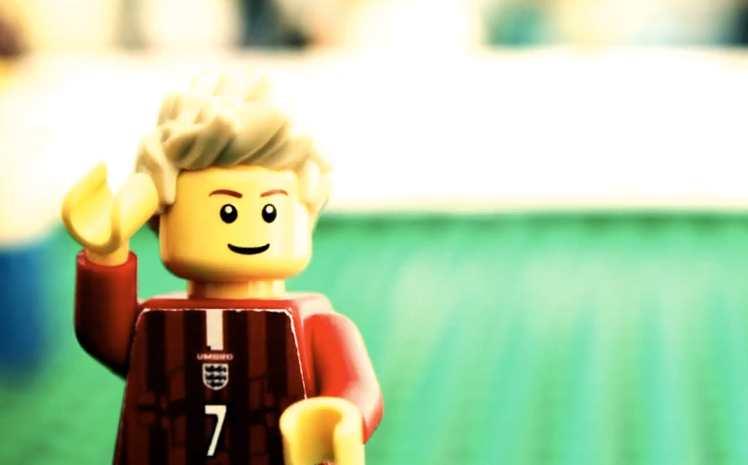 Toute la carrière de David Beckham en LEGO (vidéo)