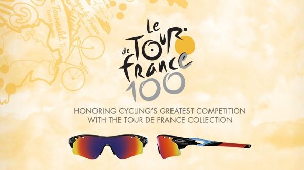 Voyez la vie en Tour de France avec Oakley !