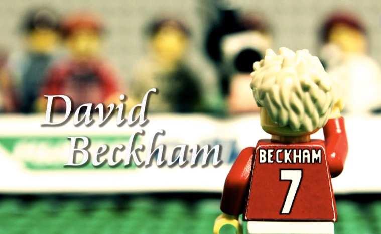 David Beckham en LEGO