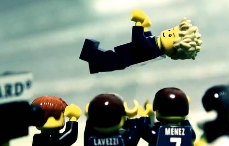 David Beckham prend sa retraite au PSG (LEGO)