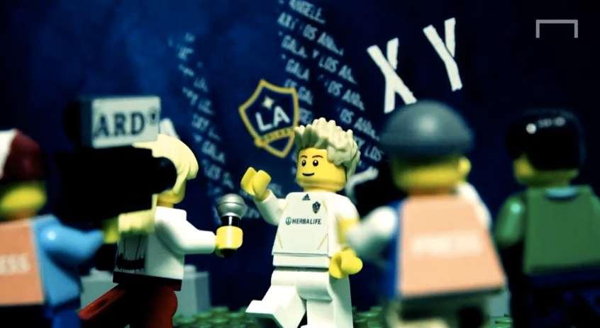 David Beckham transféré aux Los Angeles Galaxy (LEGO)