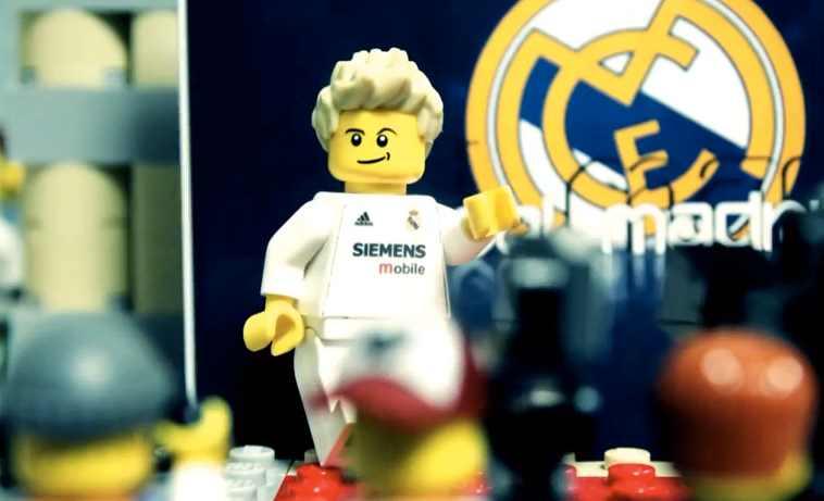 David Beckham transféré au Real Madrid (LEGO)