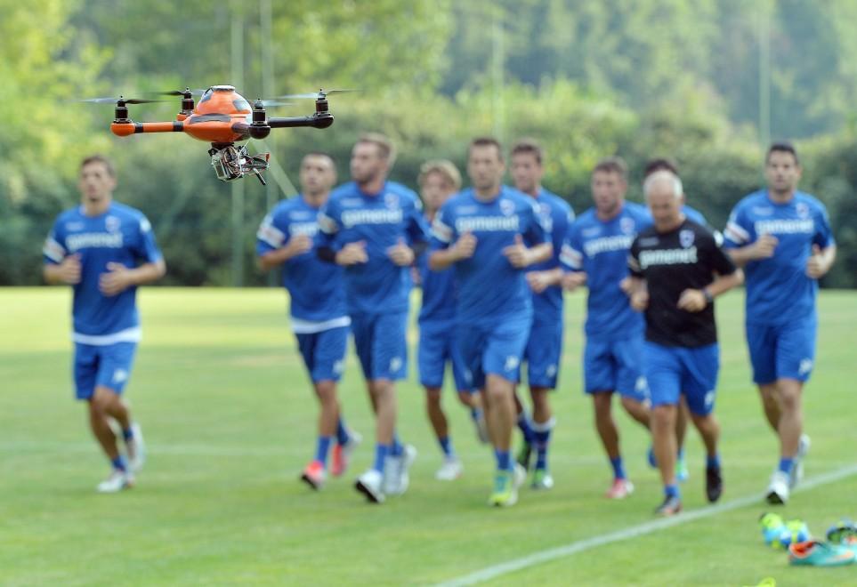 La Sampdoria utilisera un drone pour analyser les entrainements