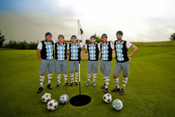 Team FootGolf avec Jean-Pierre Papin et Vincent Guerin