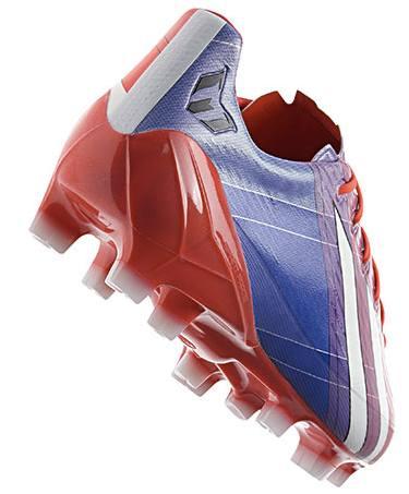 adidas F50 bleu blanc et rouge de Lionel Messi