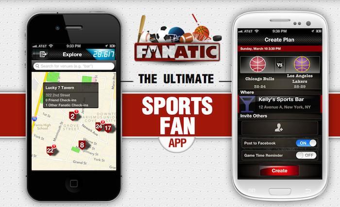 Fanatic, l'application mobile qui réunit les fans de sport