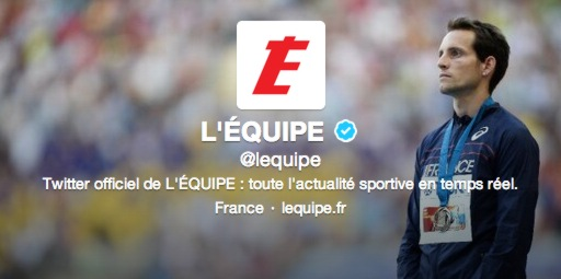 #Lequipe1million : affichez votre pseudo Twitter dans le quotidien l'Equipe !