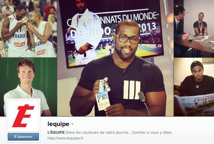 Compe Instagram de L'Equipe