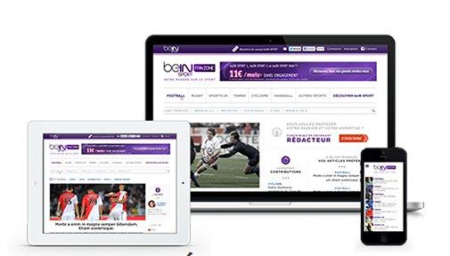 application BEIN Sport Your Zone